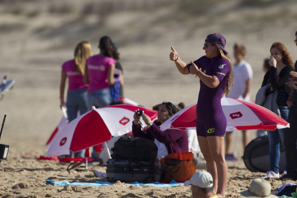 """""""It's been an incredible year for me and a huge congrats to Carissa,"""" said Tyler Wright. """"She is an amazing surfer and has pushed me a lot this season. The talent level on tour at the moment is so high, and the platform we're going to have in 2014 is really exciting. Very much looking forward to next year."""""""