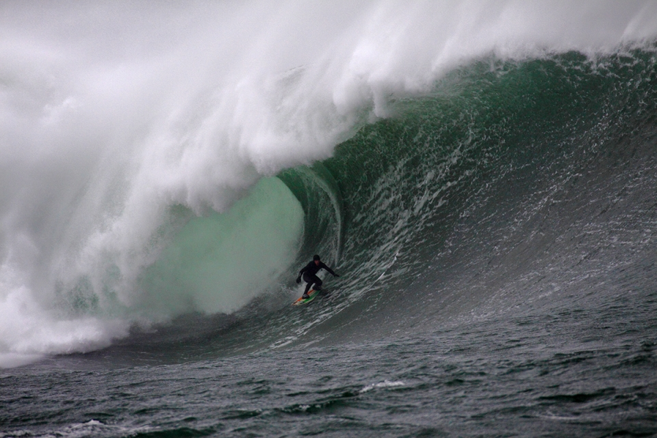 Everybody got great waves, but Conor (Maguire) stole the show, surfing with the poise and style of a man with far more years and experience, a great debut into the Crew.