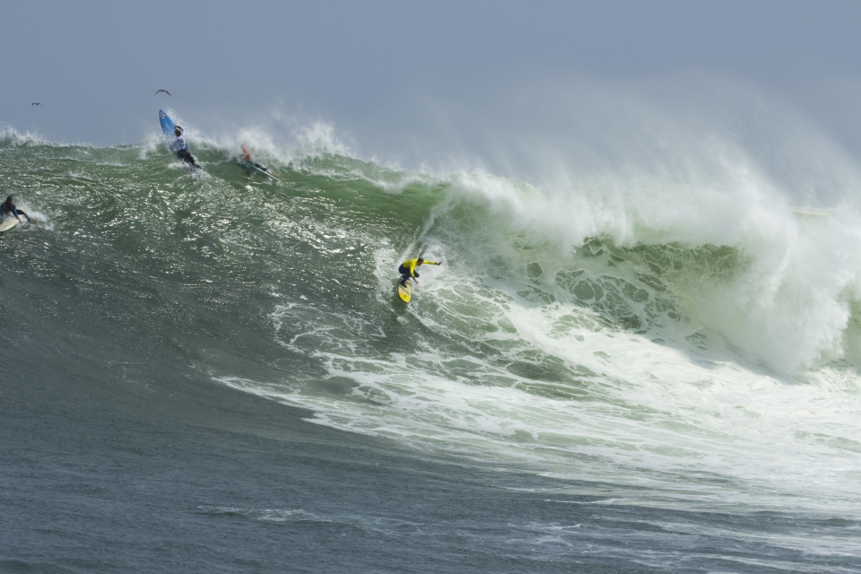 This wave took Alejo Loret through to the final.