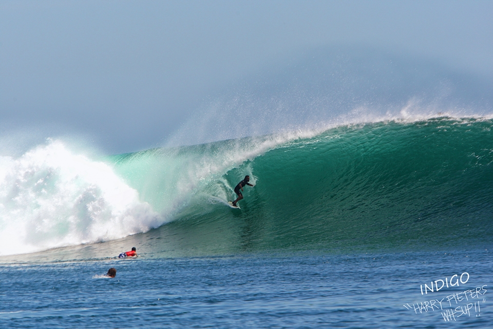 G-Land, during a week long pulsating swell which lit up much of Indonesia's surf blessed coastline.