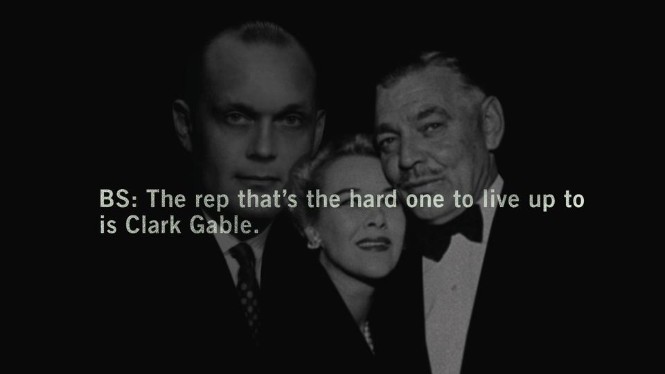 Big shoes to fill. Father Adolph, mother Kay, and iconic step father, actor Clark Gable.
