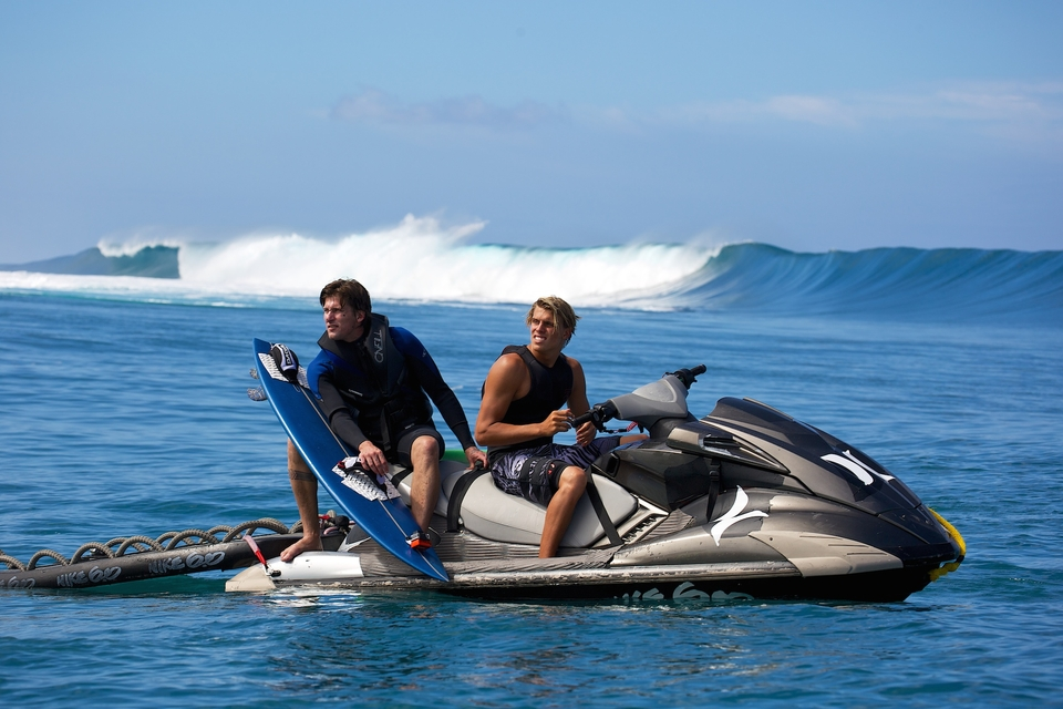 Bruce Irons waits his turn...