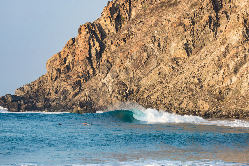 Mexico, home to a few flawless right hand drainers.