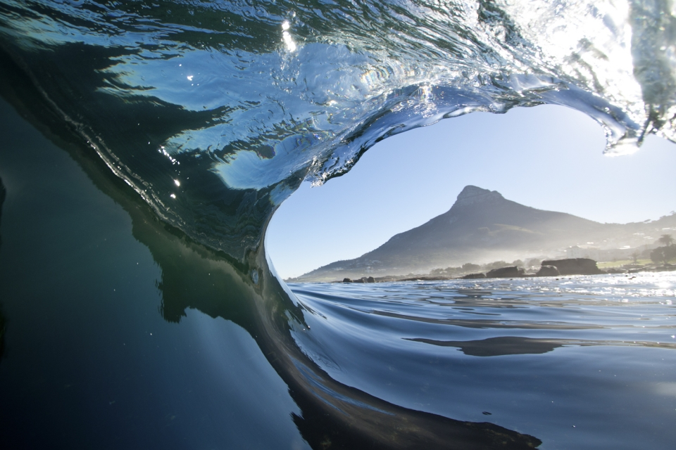Beautiful shot of Cape Town by Specs, sums it up really… Cold, glassy, empty with the best scenery you could imagine.