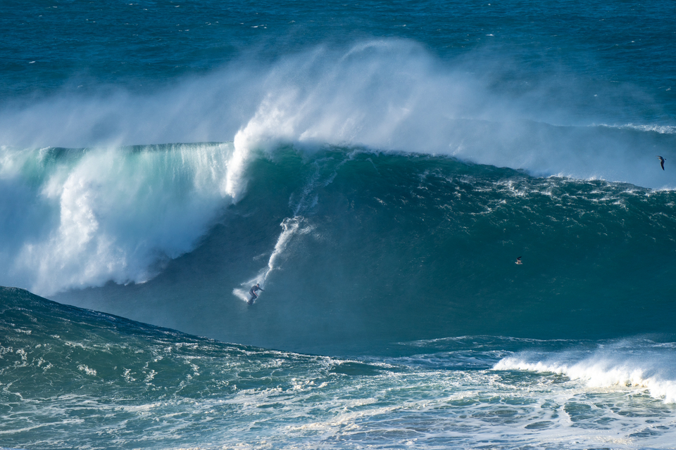 Pedro Scooby, post near death experience at Nazare last month.