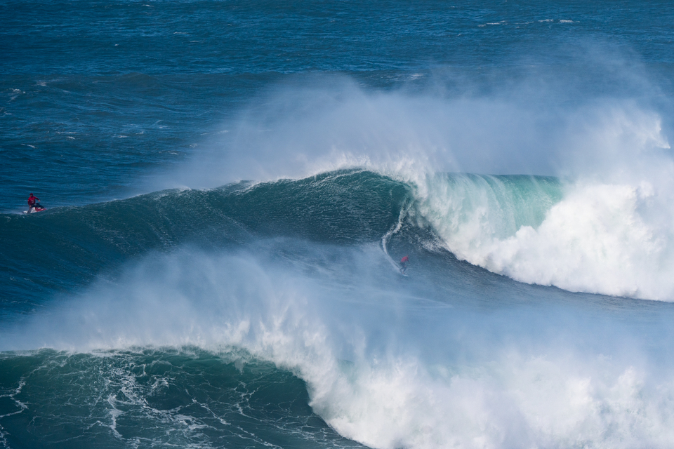 And here he is! Italo after being whipped into one of the more friendly Nazare shapes.