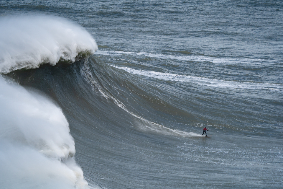The man responsible for the biggest wave ever surfed, Rodrigo Koxa. Wednesday November 13.