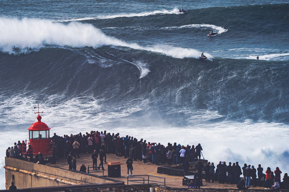Remember this? Kai Lenny treating Nazare like a toy box, way back in March which feels like a lifetime ago.