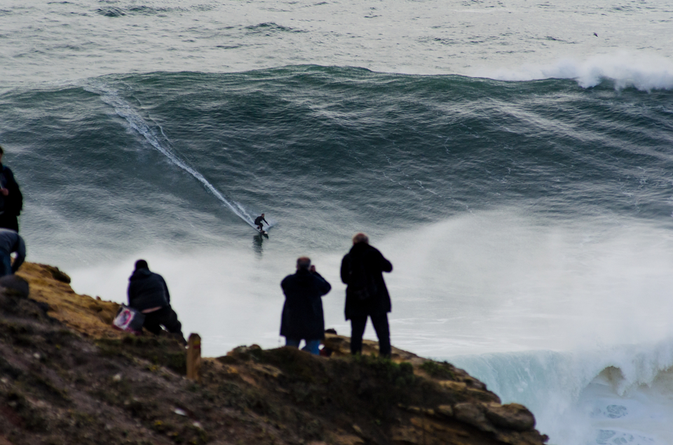 Sebastian Steudtner, looking ever more comfortable at Nazare.