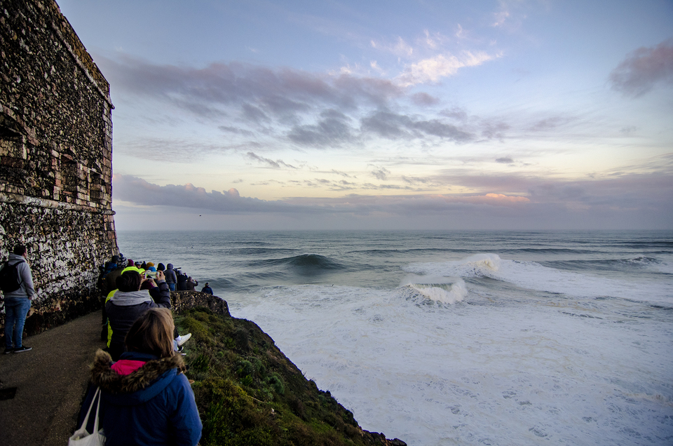 For spectators, Nazare can deliver a display like no other.