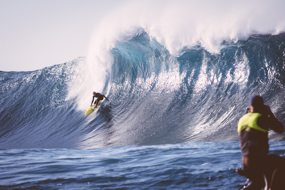 Harry Fisher, 15-years-old, charging this remote, heavy slab.