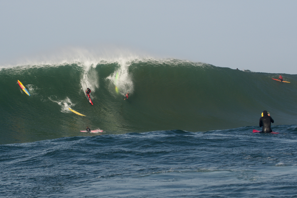 Nathan Florence sticks the drop.