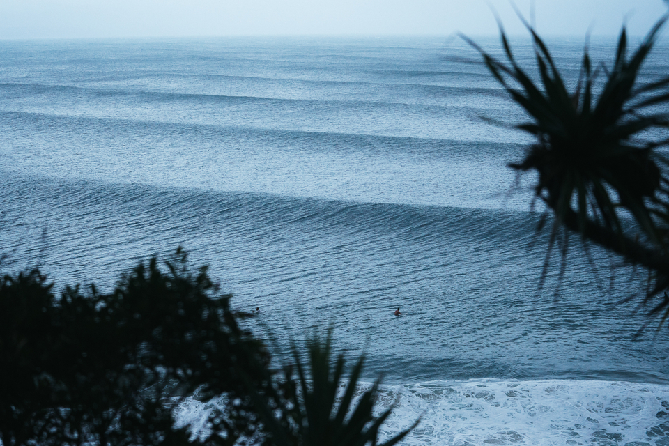 Oh it sounds cliche but there's something wonderful about seeing a stack to the horizon at Noosa.