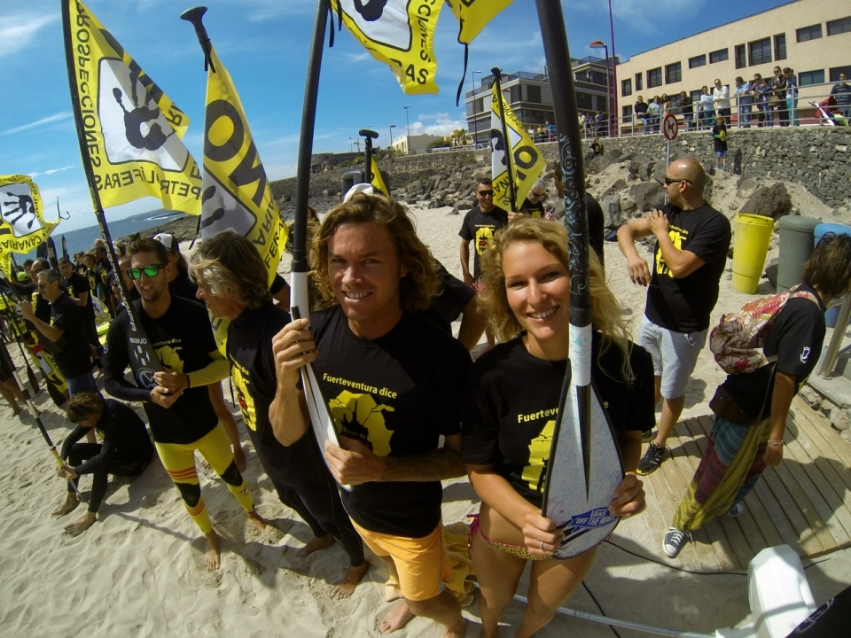 Janni Hönscheid and Tom Lowe join the torrent of protest against the drilling