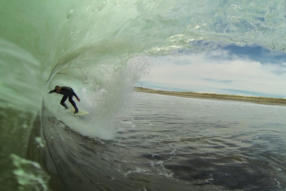 When you have every lineup to yourself, tube time is rarely lacking.
