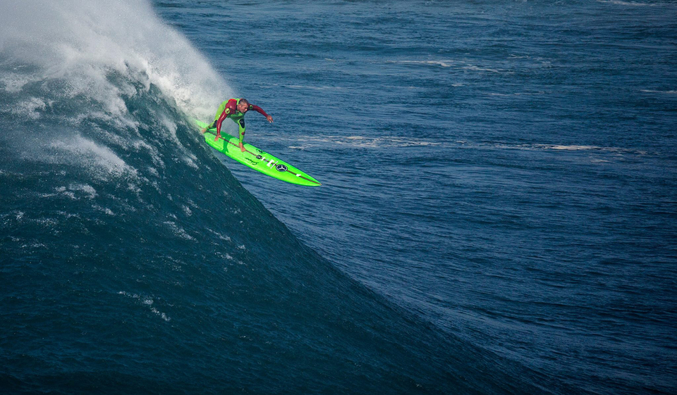 For a few years, GMac's been at the heart of all things Nazare, he even has a complex nearby.