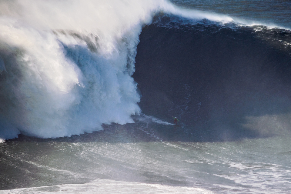 As far as Pedro's concerned, this is the biggest wave ever surfed and one that was never officially measured. What do you think?