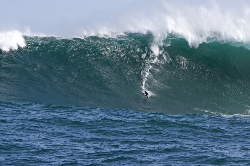 And this is where it ended up, my XXL winning wave from the reef 2km outside of Dungeons aptly named