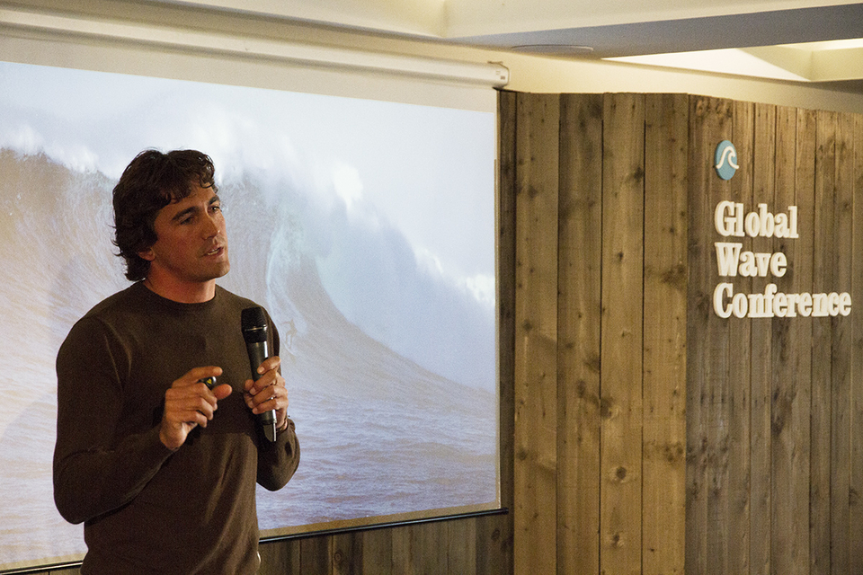 As well as being, you know, one of the best big wave surfers on the planet, Greg also gives talks about fear and his own personal experiences.