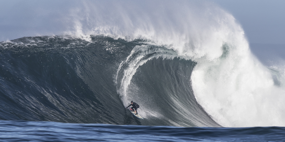 Twiggy, big wave world champ, South African native, Dungeons extraordinaire.