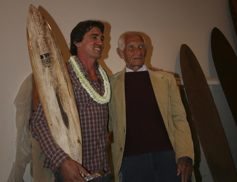 "In special attendance this year was Dr. Paskowitz. Dr. Paskowitz gave a heart-felt speech to Greg congratulating him on his Title and his incredible accomplishments.  ""Your in a different league… Your not like us normal folks.""  ""You got the message from the waves themselves. You big wave surfers are the only ones who have the ability to change the world"" said Dr. Paskowitz."