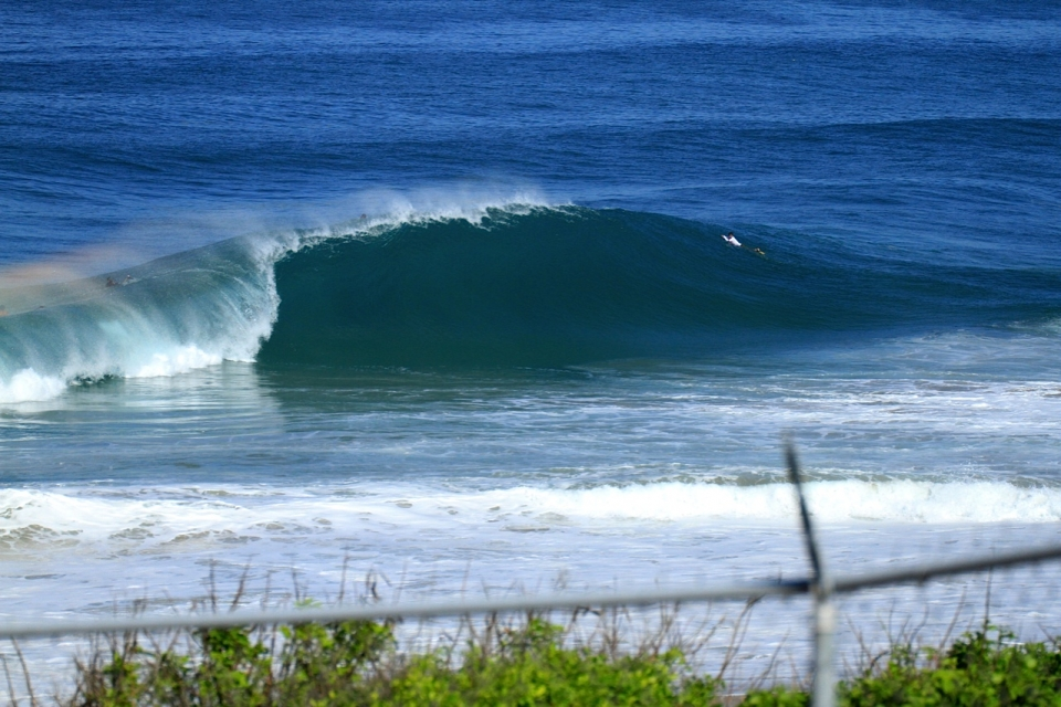 The spot under threat is a world class wedge which produces cavernous pits and equally large launch sections.