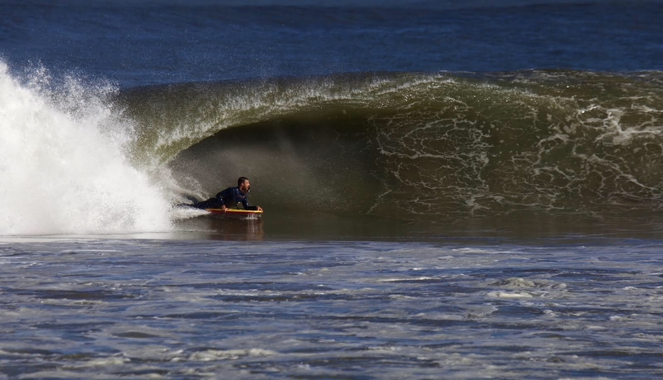 Andre's been busy making these brown water hollows his second home since the turn of the year.