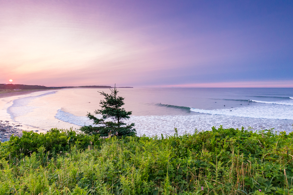 With views like this, it's no wonder you'd want to be in the water for longer in Nova Scotia.