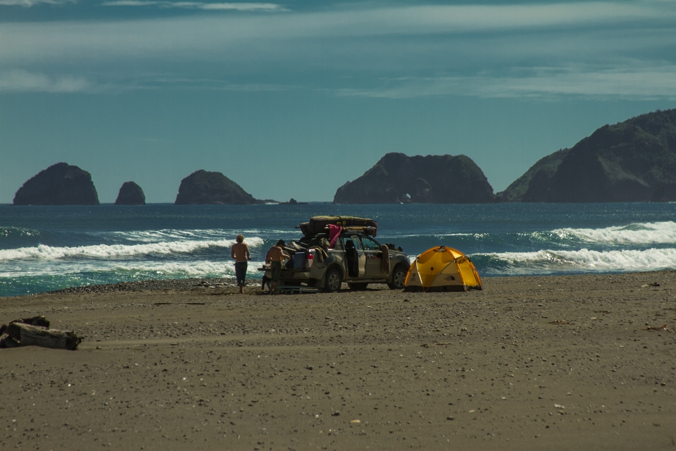 Life moves to a different beat in Southern Chile, especially when you call a pick-up truck home.