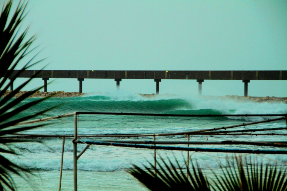 The last time you were struggling in waist high wind slop, Lebanon could have looked like this.