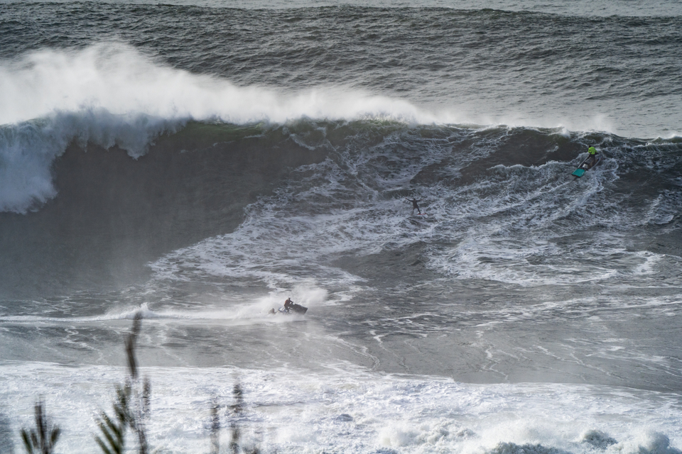 Justine Dupont is a regular standout when it comes to Nazare. Tuesday November 12.