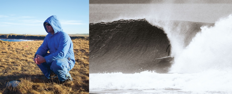 Chris Noble is a classic character we met on our first trip to Scotland, and have been good friends ever since. This is him in his epic blue boiler suit, these were standard winter issue up in Caithness. If he isn't in this boiler suit, he is likely to be in the barrel.