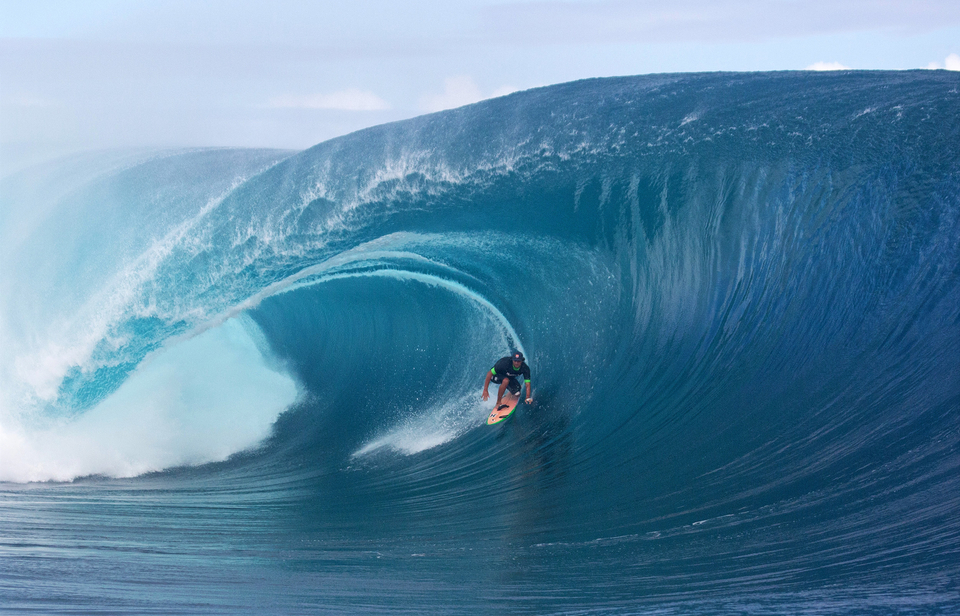 The prince of Teahupoo, Matahi Drollet.