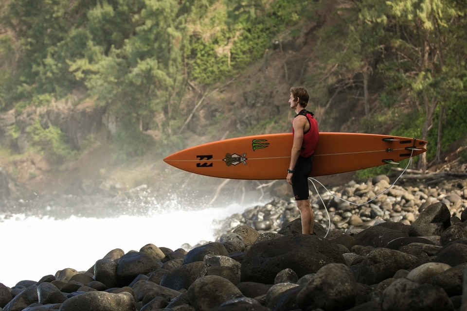 That first paddle out. Stand and take stock.