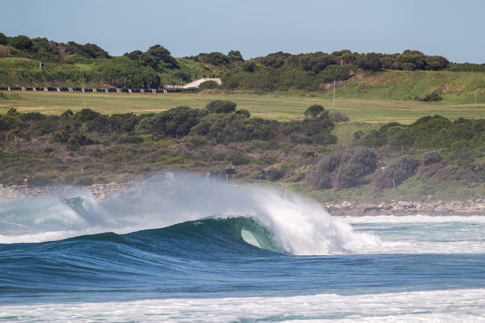 Everywhere had its moments. South Maroubra, early afternoon.