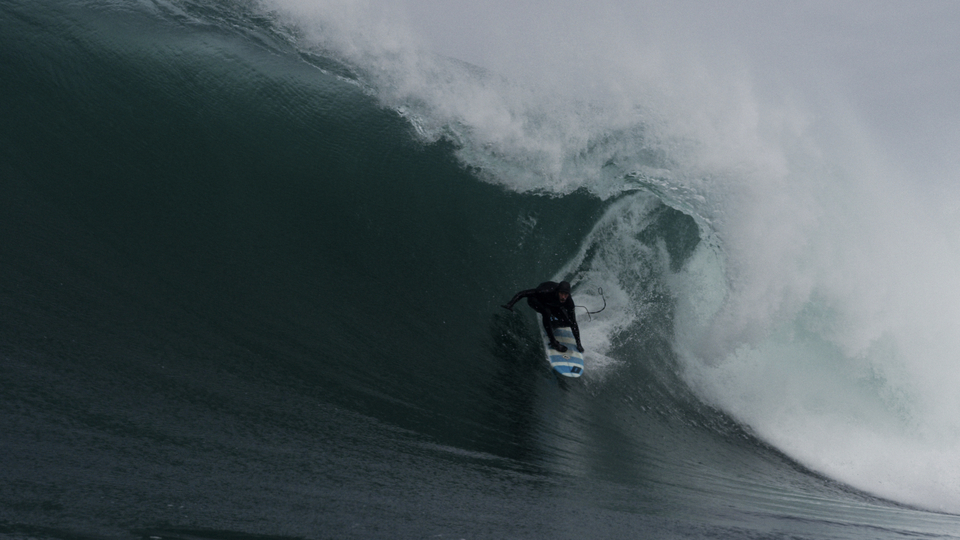 Noah Lane at a heaving Irish slab.