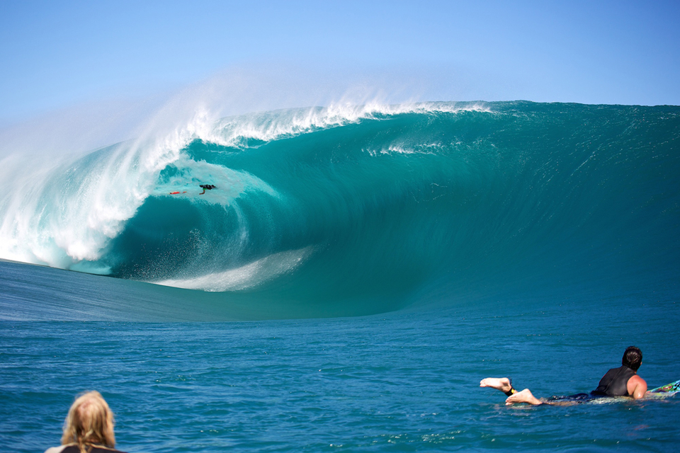 This has to be one of the most brutal wipeouts we've seen at Teahupoo. Niccolo Porcella feeling Tahiti's wrath.