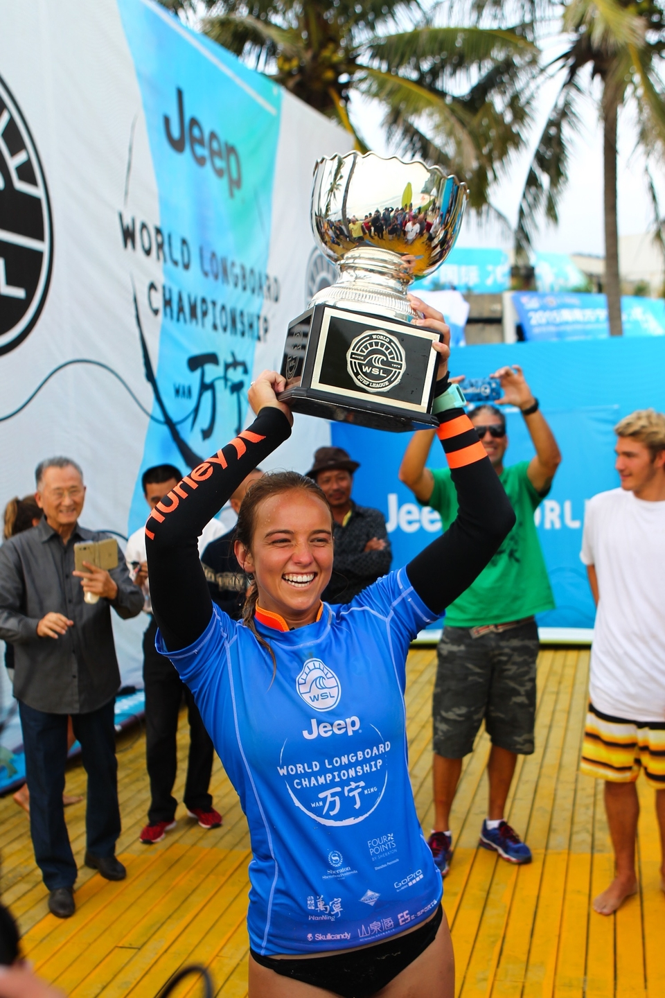 The youngest surfing champ of all time.