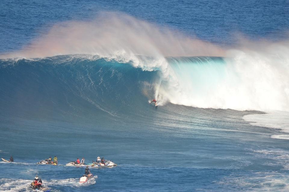 Only after years of training and having your preparation process refined to a tee can you expect to pick off one of these during a big day at Pe'ahi.