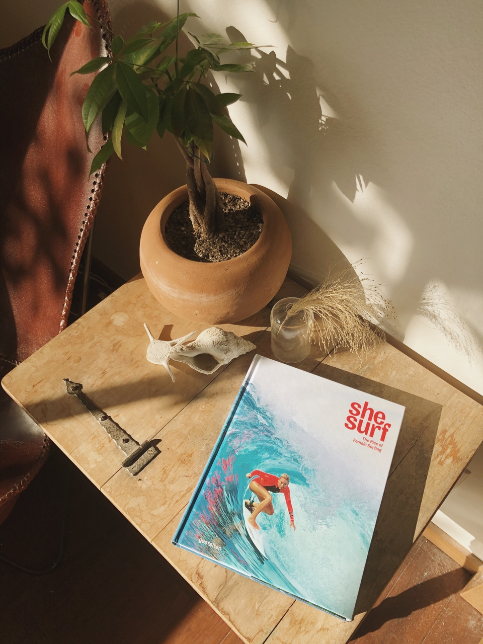 She Surf is the definitive anthology of articles and interviews around female surfing. An informative and brilliant read from cover-to-cover.