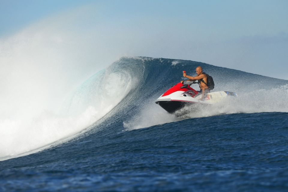Look out for this shot on Kelly Slater's Instagram.