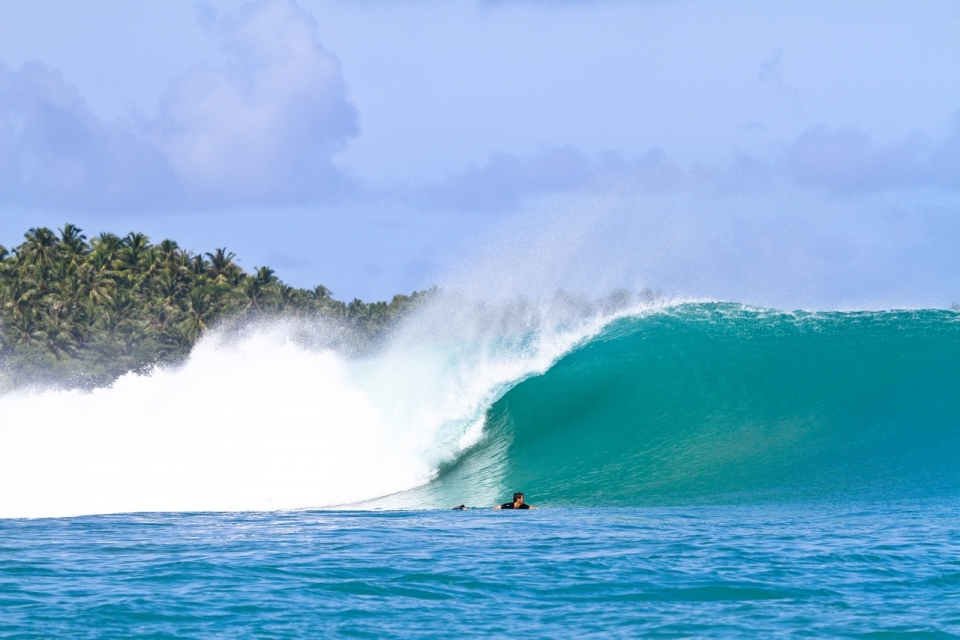 For every heavy day at Kandui Left, there's a perfect playful barrel right around the corner.