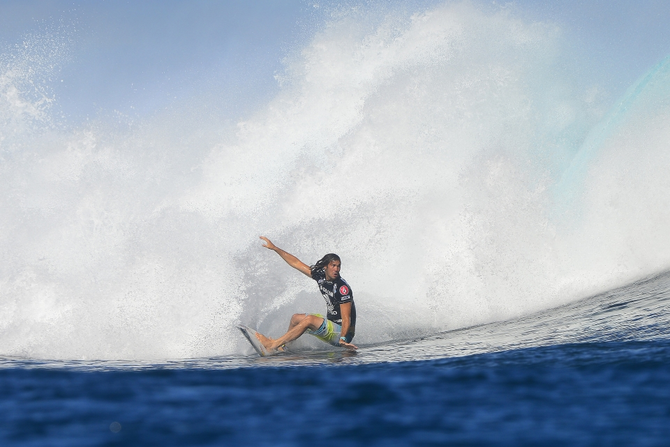 An unfortunate drop from the top since the Billabong Rio Pro for Jordy Smith .. he'll be frothing for Bali.