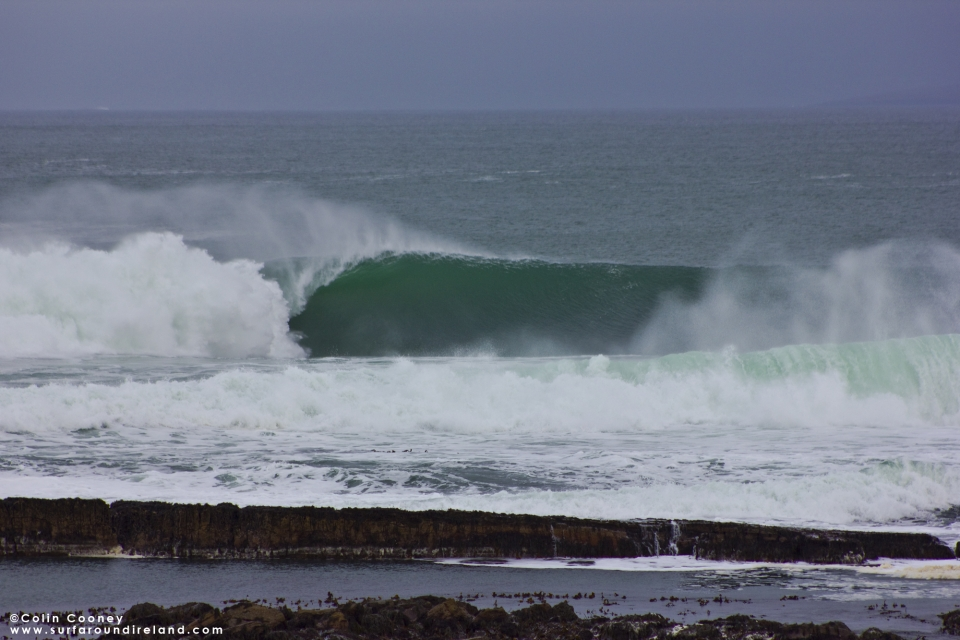 The most beautiful thing about paddle sessions is that some of the best waves always go by unridden...