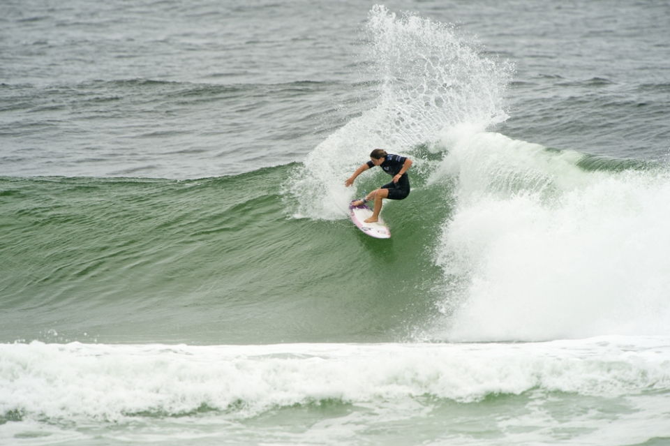 Tyler Wright, the msw office's favourite female surfer after that P-Pass clip