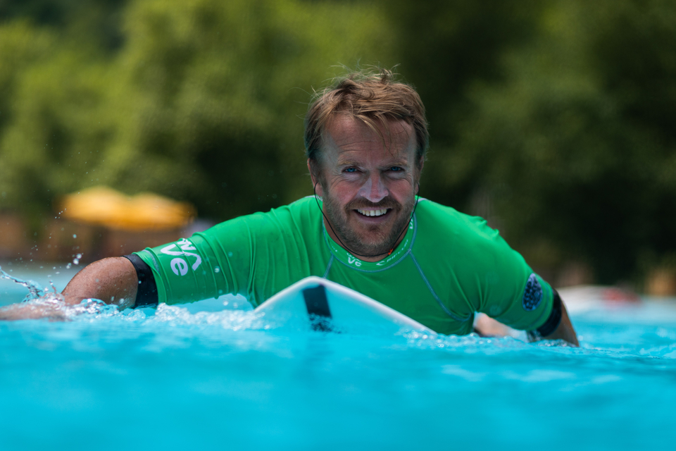 The Wave founder, Nick Hounsfield.