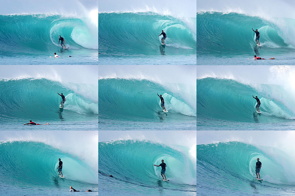 Anthony on what people are calling the best wave ever ridden out there.