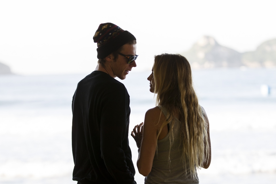 Alana Blanchard and her trainer and sometime surfer himself Jack Freestone