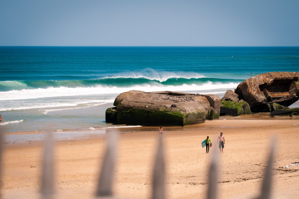 Capbreton during the summer months.