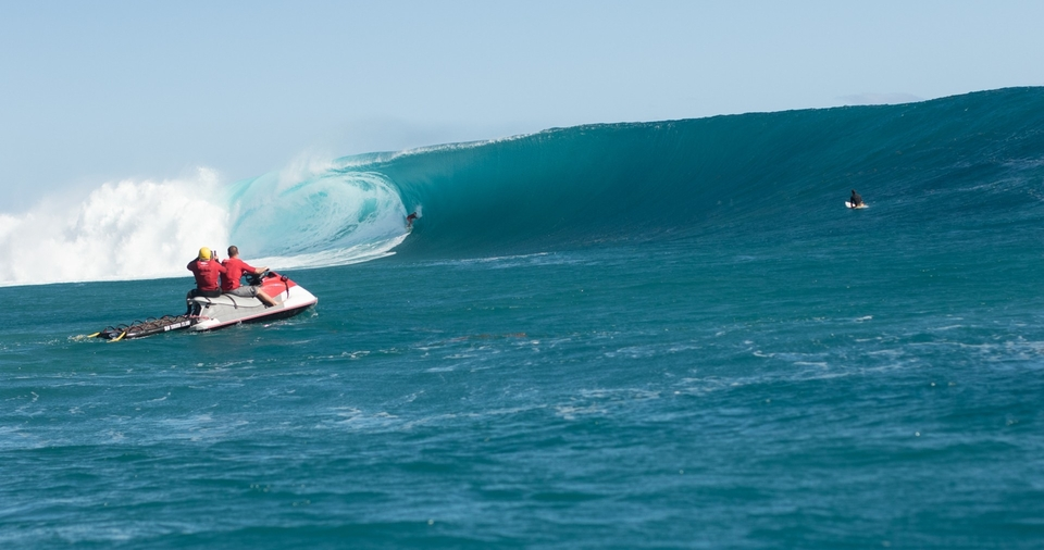 Mark Healey at Cloudbreak in 2016.